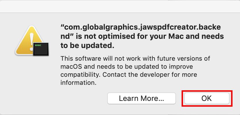 Install the TiU Internet Printer for Mac OS X (version